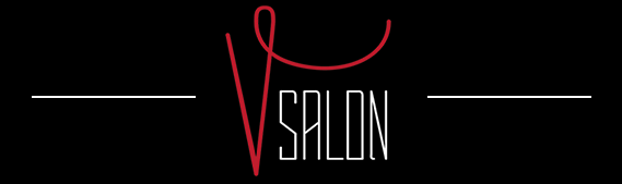 V Salon, Downtown Alton, Illinois Logo